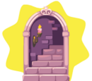Rapunzel Tower Door