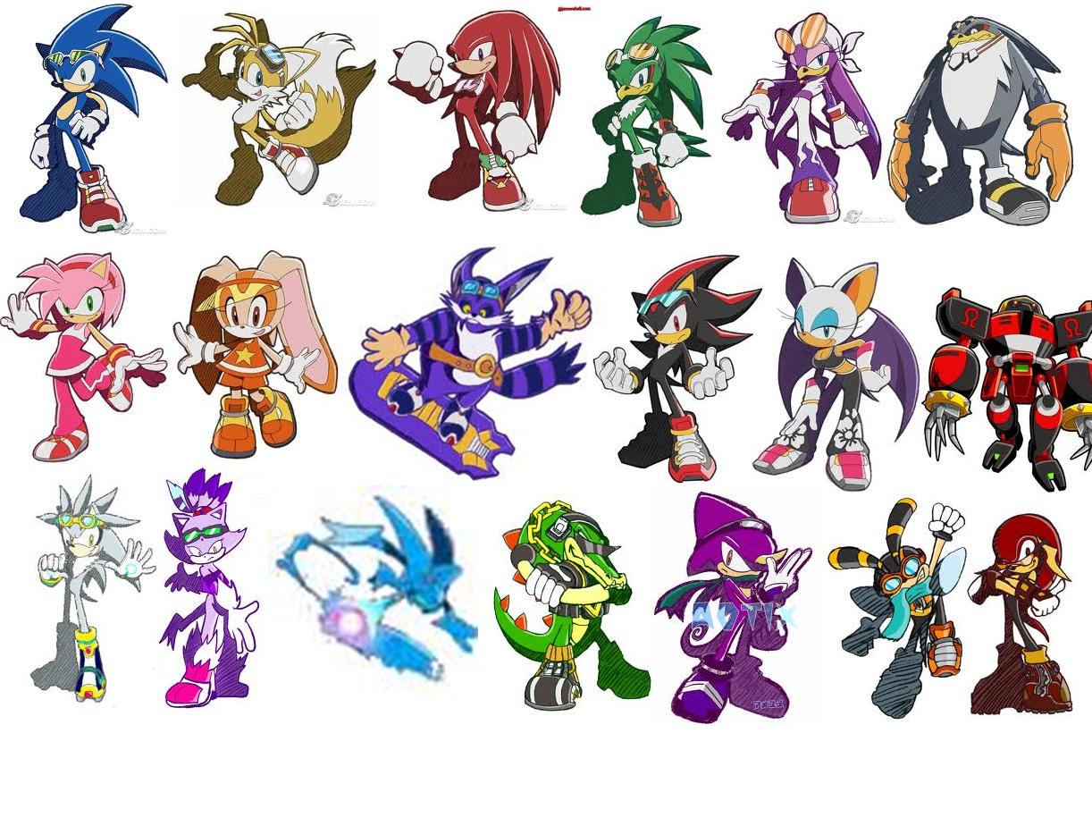 sonic riders Sonic Cha...