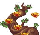 Chinese Chocolate Ingot Tree