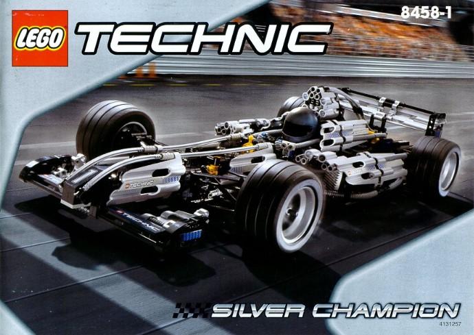 Lego Technic Building Instructions Silver Champion 8458