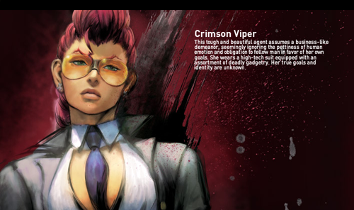 Image - Crimson-viper.png - The Street Fighter Wiki - Street ...