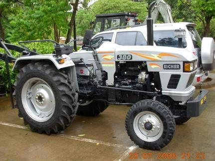 Eicher 380 tractor construction plant wiki the for Eicher motors share price forecast