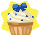 Blue Ribbon Cupcake