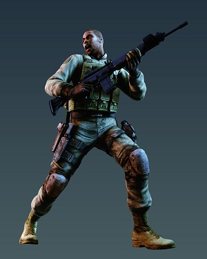 Image - Josh Sig 556.jpg - Resident Evil Wiki - The ... Sig 556 Resident Evil 5