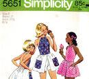 Simplicity 5651 A