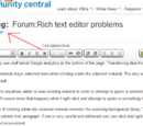 Forum:Firefox and rich text editor problems