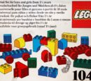 1041 Educational DUPLO Building Set