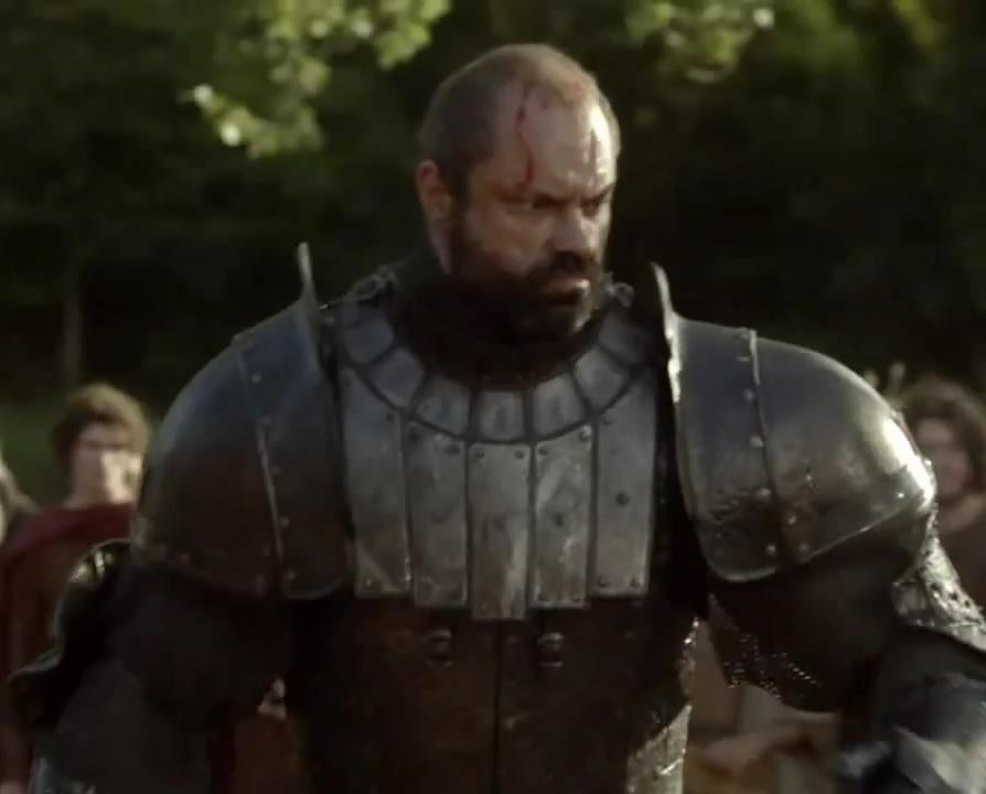 Gregor Clegane Season 2 Gregor Clegane