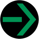Grüner Pfeil Mitte.png