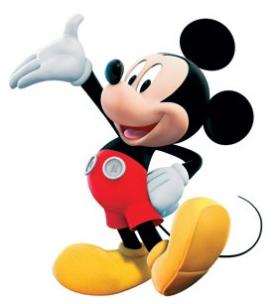 Micky und Minnie Maus - Socken fr Damen