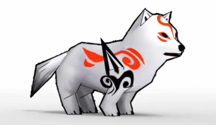 Okami Amaterasu Puppy