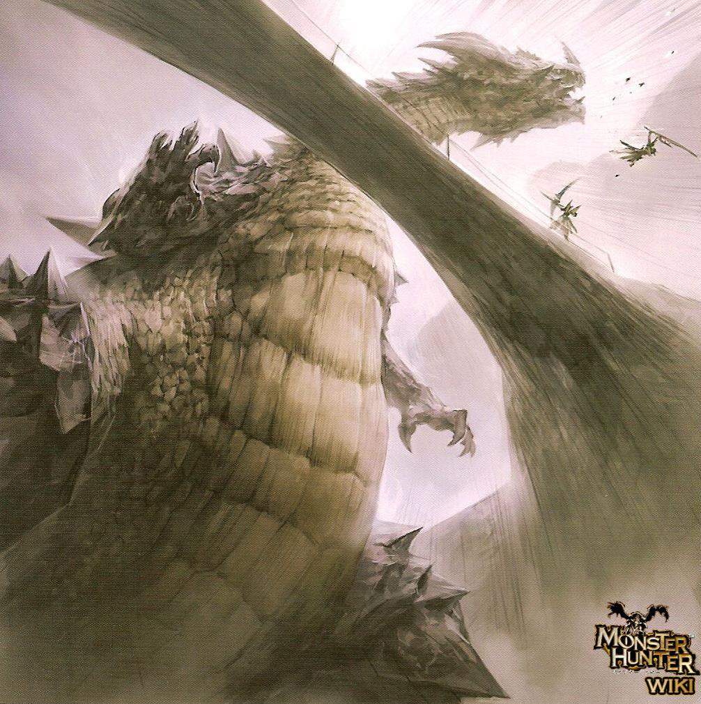Ashen Lao Shan Lung The Monster Hunter Wiki Monster