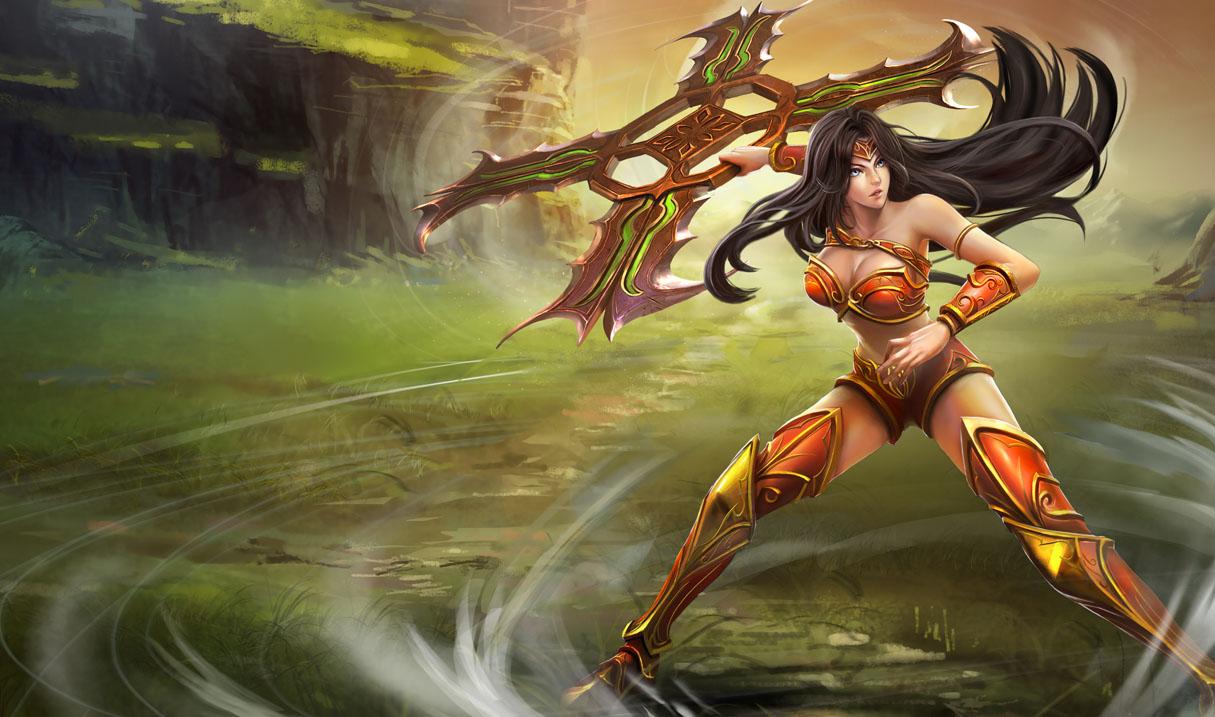 League of legends sivir tits nude