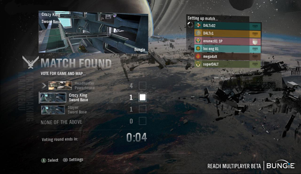 halo reach en matchmaking
