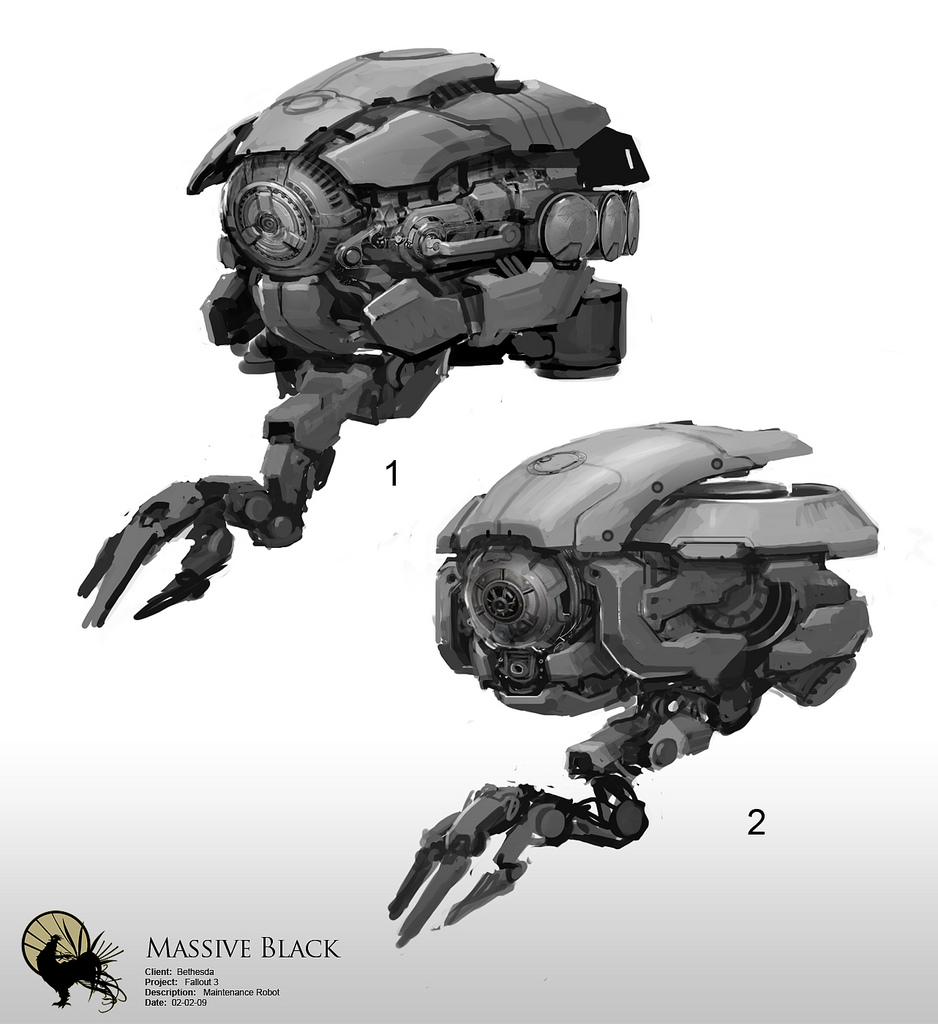 Heavy Equiped Combat Drone 10 By Maciejfrolow On DeviantArt