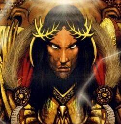 Emperor -closeup