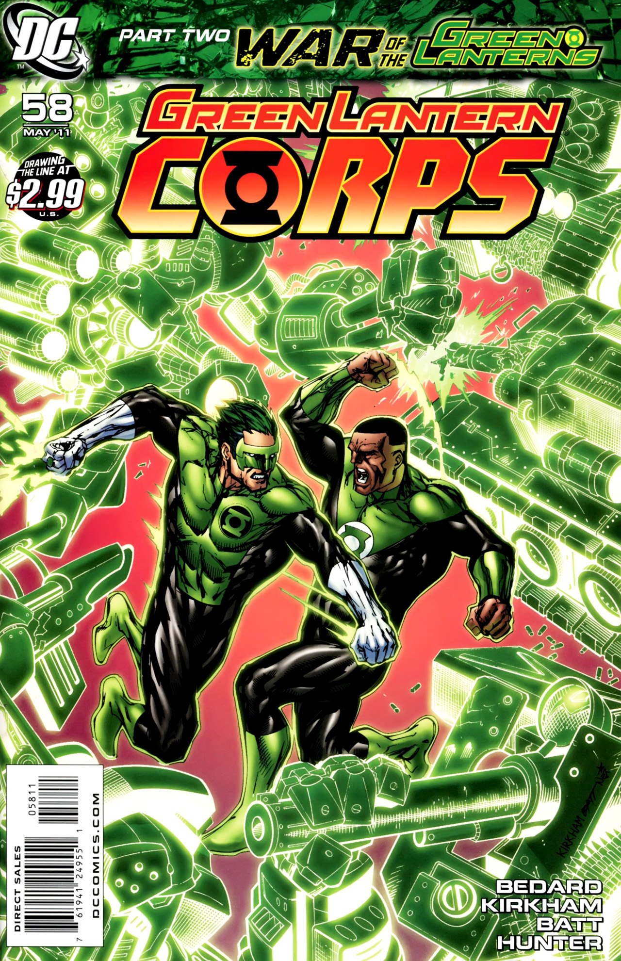 Green lantern corps comic cover - photo#24
