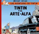 Tintín y el arte-alfa