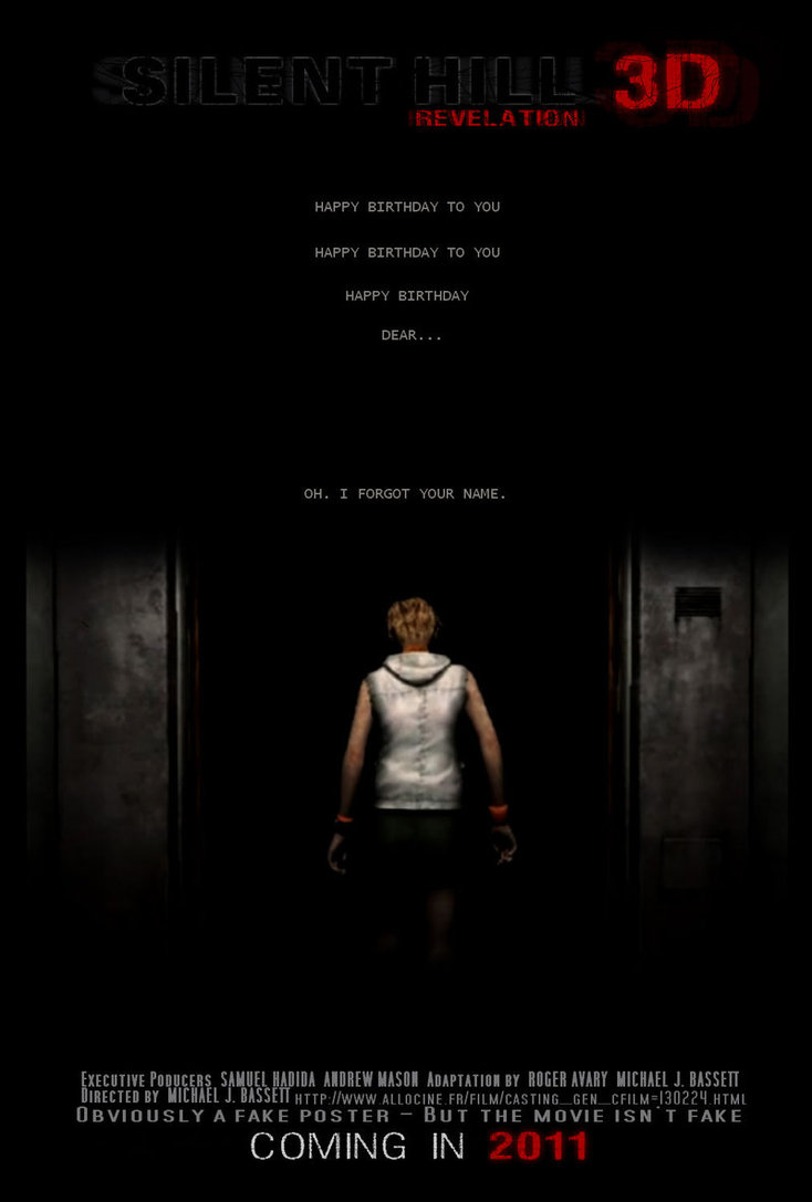Fake movie poster