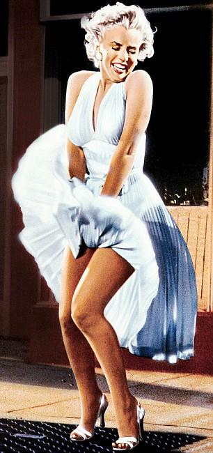 Marilyn Monroe Skirt Up 93