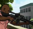 Heckler & Koch MSG90 Sniper Rifle