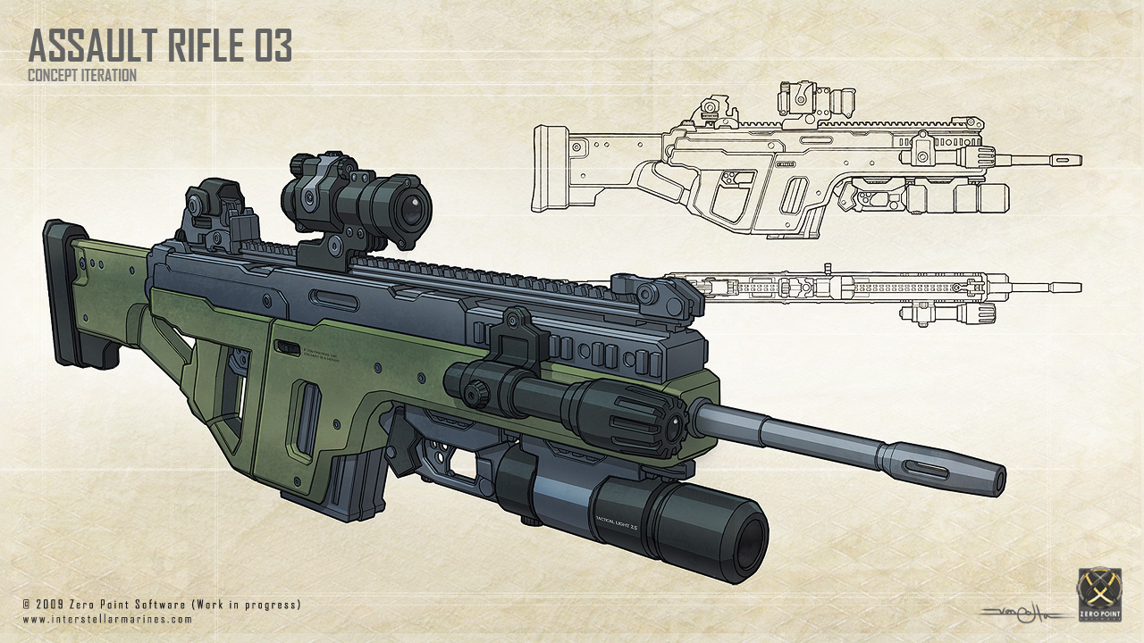 Future Military Weapons The weapon was originally