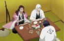 Ukitake, Kyoraku, and Amagai drinking.png