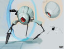 Portal 2 PotatoFoolsDay ARG Unknown Personality Core-Based Bot.jpg