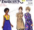 Butterick 6519 A