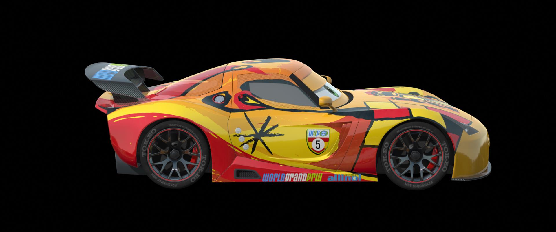 Image cars 2 concept art pixar wiki disney pixar animation studios - Coloriage cars 2 miguel camino ...
