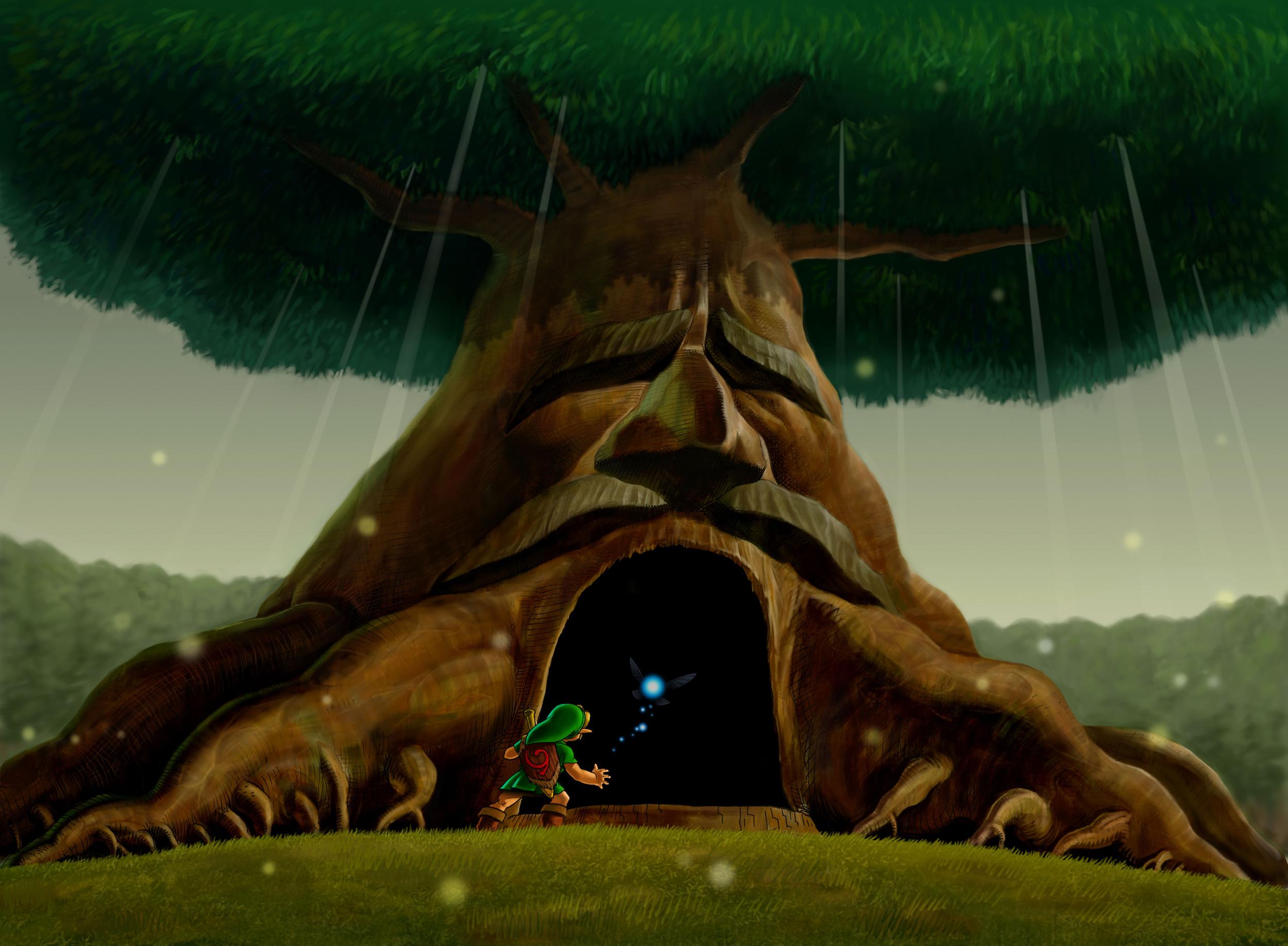 Inside the Deku Tree   Zeldapedia   FANDOM powered by Wikia