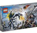 7021 Viking Double Catapult vs. the Armored Ofnir Dragon