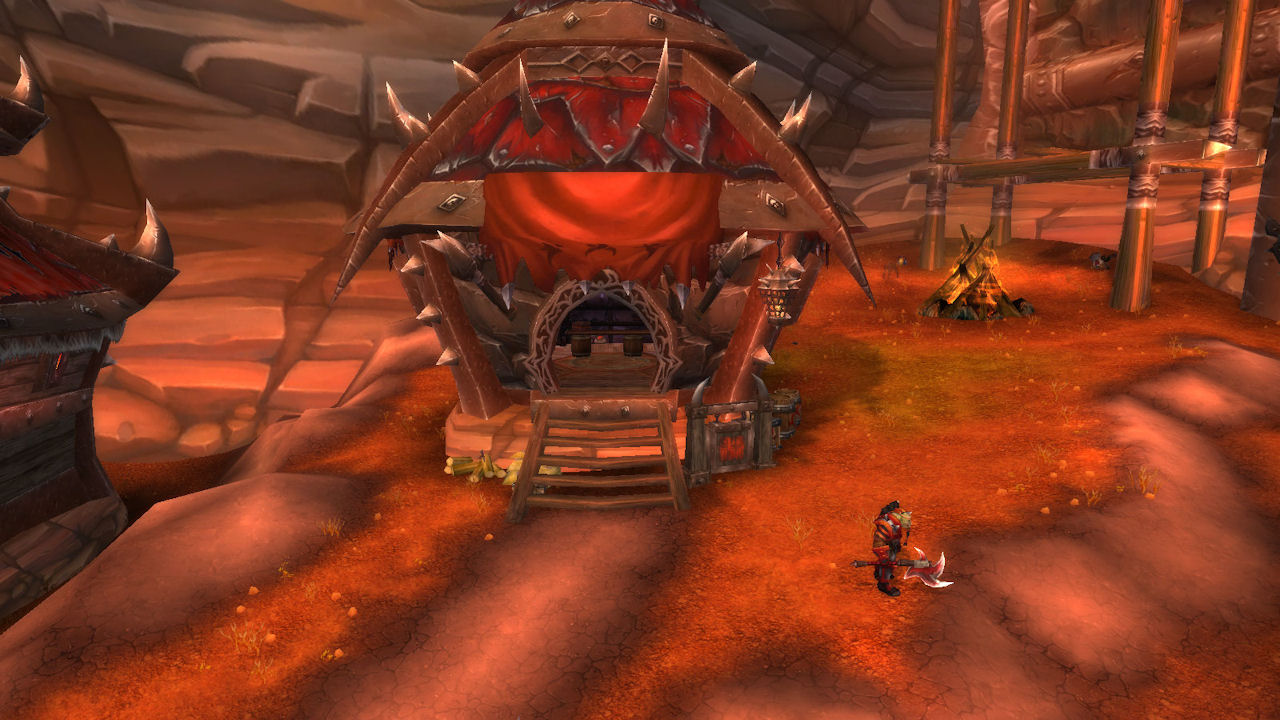 how to get to cataclysm from orgrimmar