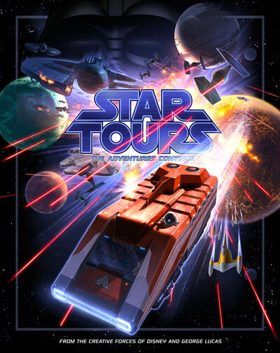 StarTours II poster