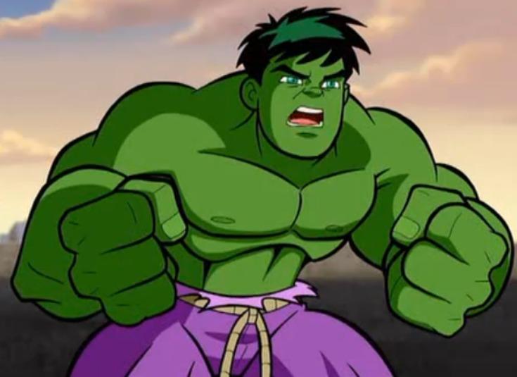 Ella hulk sexo con thor parodia