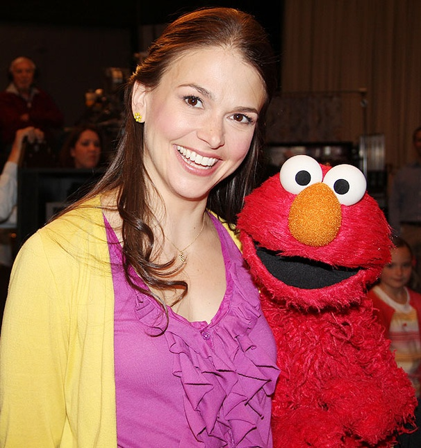 Sutton Foster on sesame street