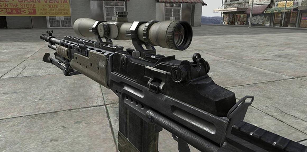 Файл - M14ebr.jpg — Call of Duty Wiki