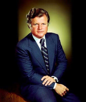 ted kennedy fist