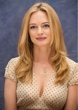 The 47-year old daughter of father James Graham and mother Joan Graham, 173 cm tall Heather Graham in 2017 photo