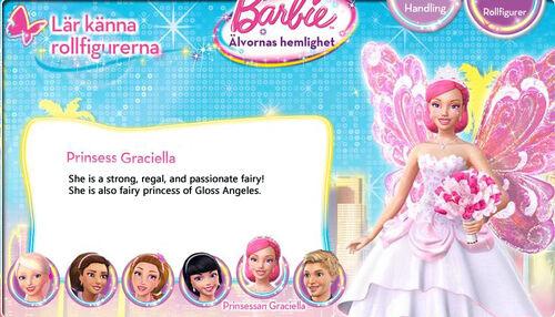 Princess Graciella: Barbie-A-Fairy-secret-Biography-Princess-Graciella