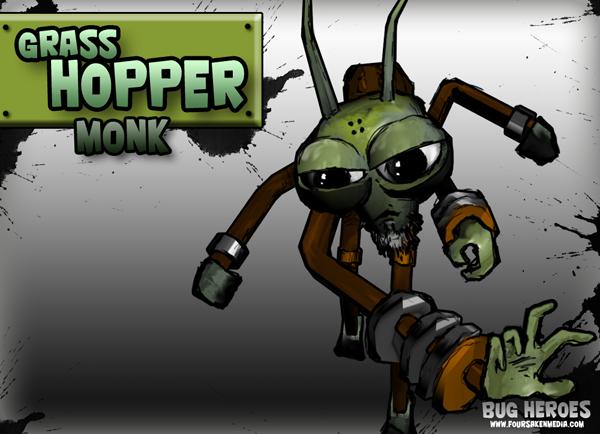 Grasshopper Bug Heroes Wiki