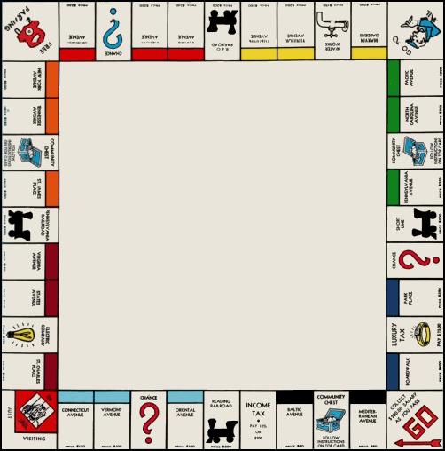 Монополия своими руками игра шаблоны на русском