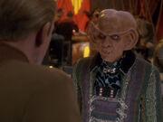 Odo fragt Quark nach Dax