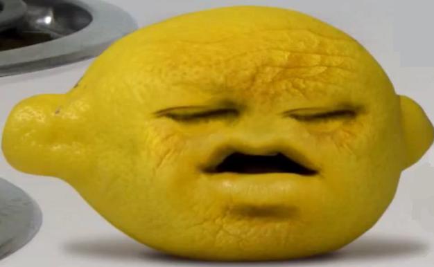 annoying orange grandpa lemon - photo #1