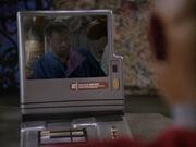 Benjamin Sisko spricht mit seinem Vater