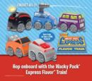 Wacky Pack Express Flavor Train (Sonic, 2008)