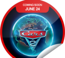 Cars 2 Coming Soon (Sticker)