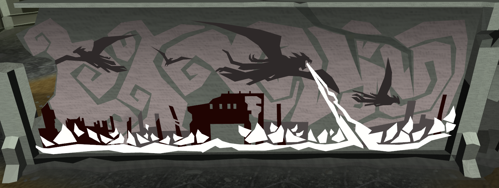 Kethsi runescape wiki wikia for Fallout 4 mural