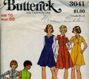 Butterick 3041 A