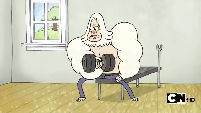 regular show skips dating show